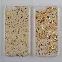 Buy cheap Transparent Phone Case with Platinum Shining Spot and Epoxy from wholesalers