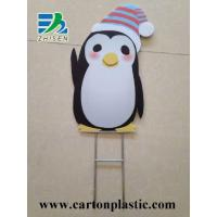 Buy cheap Corrugated Plastic Signs With Wire Stake from wholesalers