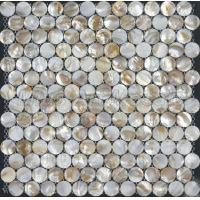 Buy cheap Hexagon seam natural mother of pearl mosaic tile D8F08-3 from wholesalers