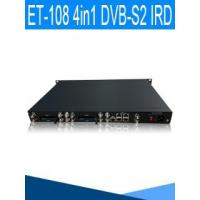 Buy cheap Model No.: ET-108 DVB-C/S2/T2 4 in 1 IRD with 4 CI slot from wholesalers