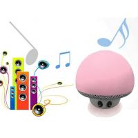 LED light mashroom shape cheap bluetooth wireless speakers with microphone CE RO Manufactures