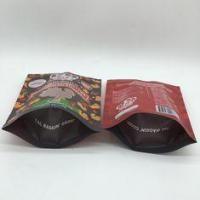 40mm Bottom Guest Pet Food Bag Stand Up Pouches Pressure Resisitance