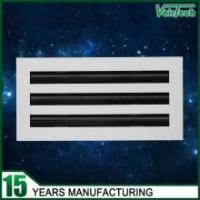 Buy cheap Linear slot diffuser (25mm Slot), aluminum supply slot air diffuser, adjustable air diffuser from wholesalers