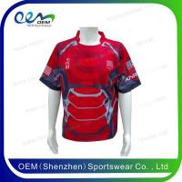 China Custom design rugby shirts on sale