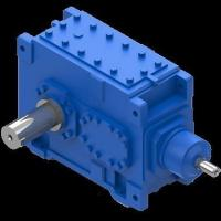 Buy cheap Industrial Helical-Bevel Gearbox Units from wholesalers