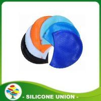 Buy cheap 2016 new personalised design silicone swimming caps from wholesalers