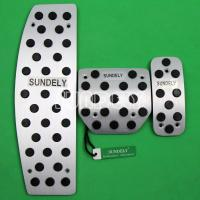 Buy cheap Aluminum Foot Pedals for Land Rover LR3 LR4 Range Rover Sport Discovery 3 4 AT from wholesalers