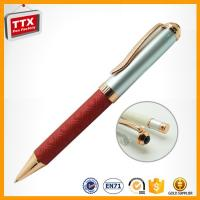 Buy cheap multifunction pen TTX-W041B leather metal promotional pen with logo from wholesalers