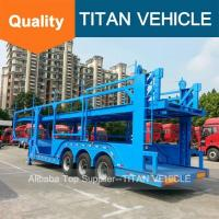 Buy cheap car carrier truck  TITAN Car Transport Car Carrier Truck Trailer Sale In Dubai from wholesalers