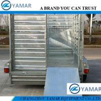 Buy cheap Hot Dipped Galvanized Tandem Axle Cattle Stake Trailer from wholesalers