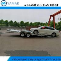 Buy cheap High Quality Hot Dipped Galvanized Tandem Car Trailer from wholesalers