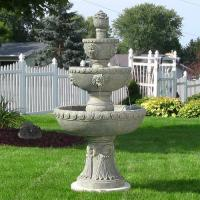 Buy cheap Sunnydaze Four Tier Lion Head Water Fountain from wholesalers