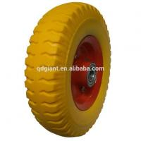 Wholesale 8inch Transportation Trolley PU Wheel from china suppliers