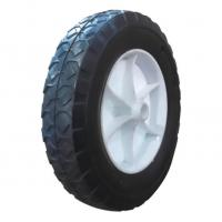 Buy cheap Solid Rubber Wheel With Plastic Rim product
