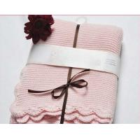 Buy cheap Luxury High Weight 100% Cotton Baby Blanket, Knitted Crochet Baby Blanket from wholesalers