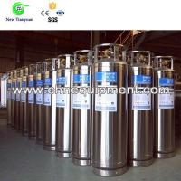 Liquid Oxygen 175L Capacity Upright DPL Cryogenic Welding Insulated Cylinder Manufactures
