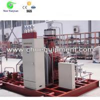 Buy cheap Biogas/Acetylene/Argon High Pressure 300Nm3/h Capacity Gas Boost Diaphragm Compressor from wholesalers