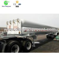 Buy cheap Compressed Natural Gas Long Tube Semi-Trailer for Gas Transfering/Storage from wholesalers