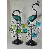 Buy cheap Jewelry box & trinket box Peacock candle holder from wholesalers