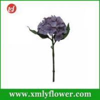 Buy cheap H31CM Purple Decoration Flowers of Silk Stem Flower Artificial Hydrangea from wholesalers