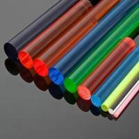 Buy cheap acrylic rods in solid color from wholesalers