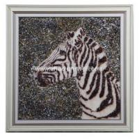 Buy cheap Wholesale Handmade Shell Arts Horse Head Shape Wall Picture from wholesalers