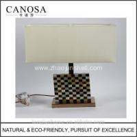 Buy cheap Canosa ECO-friendly golden mother of pearl with pen shell table lamps from wholesalers