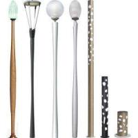 China Aluminum High End Yard Light Pole Outdoor on sale