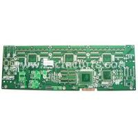 Buy cheap Rigid PCB 6-layer PCB(Immersion Silver + Gold fingers) from wholesalers