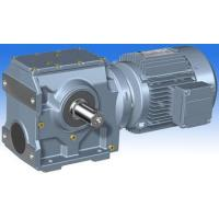 Buy cheap S series helical-worm gearmotor from wholesalers
