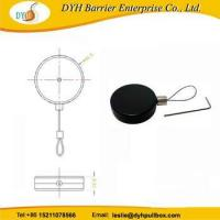 Round retractable pull box,retractable reel mechanism,anti-theft ring display