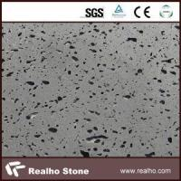 China Competitive Price and Best Quality Gray Quartz Stone Kitchen Countertop with Laminated Edge on sale
