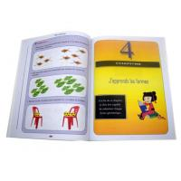 Buy cheap Saddle Stitch Brochure Printing Service Custom Cheap Promotional Art Paper from wholesalers