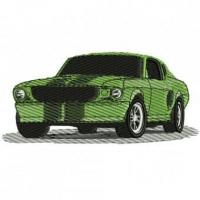 Buy cheap 1969 Ford Mustang Embroidery Design from wholesalers