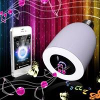 LED Lamp Wireless Bluetooth 3.0 Remote Control LED Light Music Audio Speaker Bulb Manufactures
