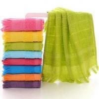 Buy cheap Cotton Tassels Tea Towel from wholesalers