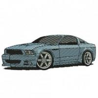 Buy cheap 2010 Ford Mustang Embroidery Design from wholesalers