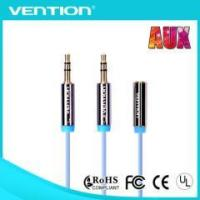 Buy cheap Vention High Quality Hotselling 3.5mm 1 Female to 2 Male audio cable from wholesalers