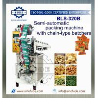 Wholesale BLS-320B PLS-320B Semi-Automatic packaging machine with chain-type batchers from china suppliers