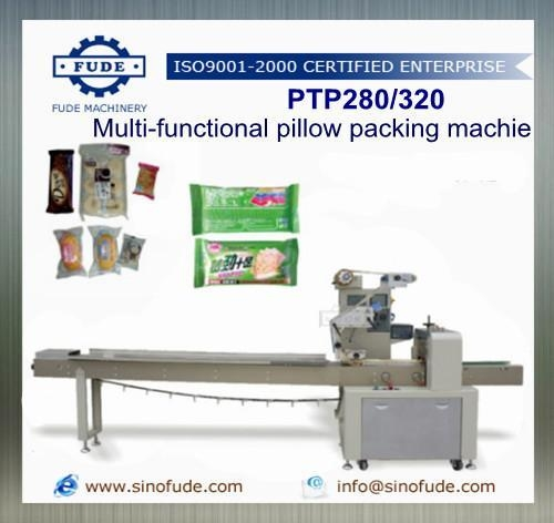 Quality PTP280/320 Multi-functional Pillow packing machine for sale