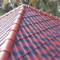 Buy cheap Glazed Roof Tiles Double Colour Glazed Clay Roof Tiles from wholesalers
