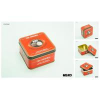 Buy cheap square tin box 110x110x62mm from wholesalers