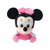 Buy cheap Sitting Mickey Mouse Animal Plush Toys Plush Stuffed With Pink Bows And Dress from wholesalers