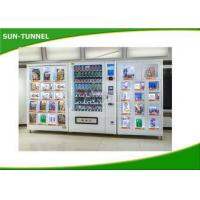 Small Snack And Soda Vending Machine , Industrial Grade Control Board Food Dispenser Machine Manufactures