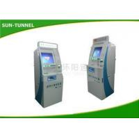 Buy cheap High Brightness Outdoor Gift Card Kiosk , Rfid Card Dispenser Machine With Web Camera from wholesalers