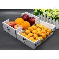 Customized Size Corrugated Packaging Box with Handle Cardboard Box for Fruit and Vegetable Manufactures