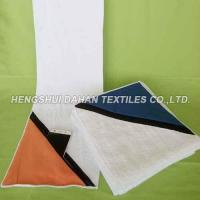 Buy cheap 100% cotton terry cloth and suede fabric glof towel with pocket CT22 from wholesalers
