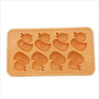 Buy cheap RENJIA duck shape silicone ice cube mold eco-friendly silicone ice tray and ice tray duck from wholesalers