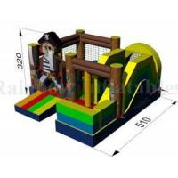 Buy cheap Grey Dinosaur Toy Inflatable Bounce Combo For Sale from wholesalers