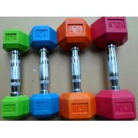 Buy cheap rubber coated dumbbell TS1025 from wholesalers